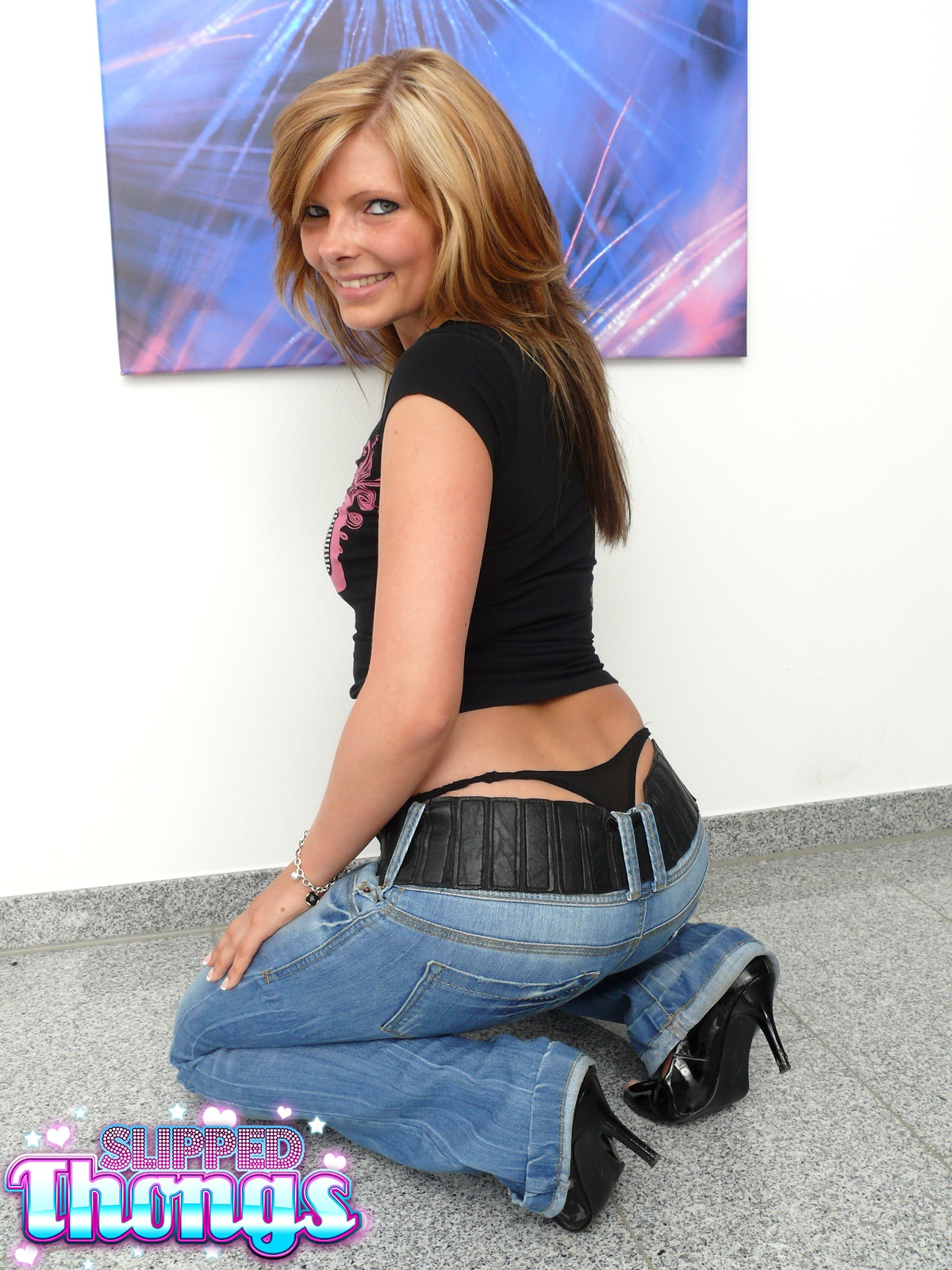 Jeans Whale Tail Girl Mia